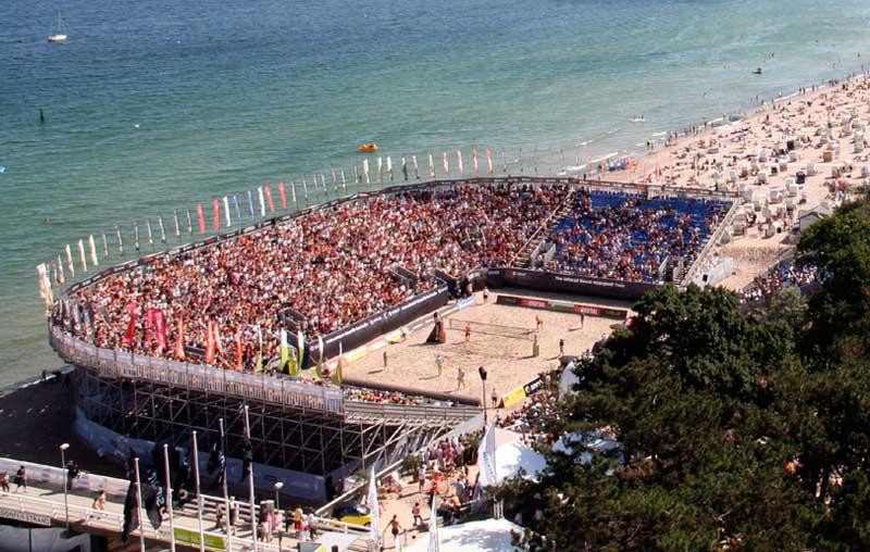 beachvolleyball timmendorfer strand